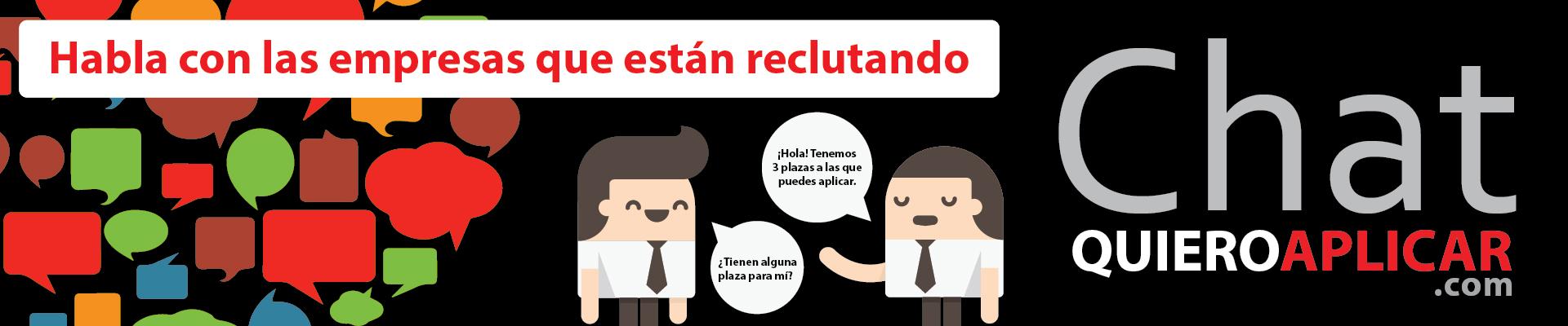 Chat de QuieroAplicar.com